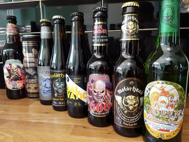 Cervezas del Rock